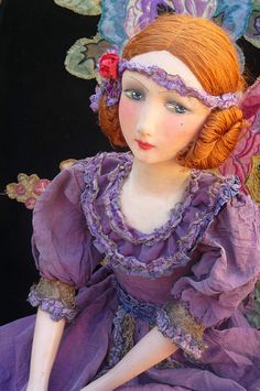 Antique French Boudoir Doll Paris RARE Fashion Doll 1920 | eBay