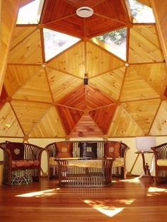 Dome designed and built by Rob Lusher. We need to replace our horrible popcorn ceiling.