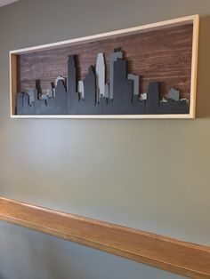 Minneapolis wooden skyline (#QuickCrafter)