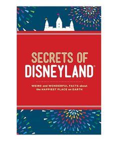 $6.29marked down from $9! Secrets of Disneyland Hardcover #disneyland #zulilyfinds