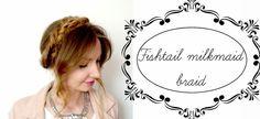 Makijaż | Fryzury | Jedzenie: Fishtail milkmaid braid