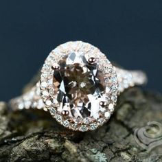 18K GOLD EP 4.0CT DIAMOND SIMULATED ENGAGEMENT RING 6 M