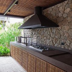 Pergola Ideas For Deck Product Modern Outdoor Kitchen, Backyard Kitchen, Indoor Outdoor Living, Outdoor Decor, Patio Roof, Pergola Patio, Backyard Patio, Cheap Pergola, Pergola Kits