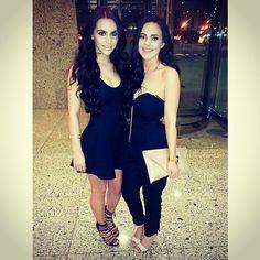 Carli Bybel and Nicole