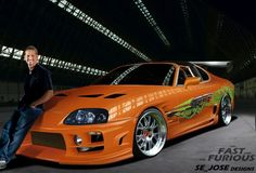 Paul Walker by Fast and furious