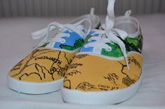 Lord of the Rings Handpainted Shoes