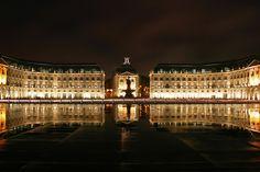 Place de la Bourse, le Miroir d'Eau...