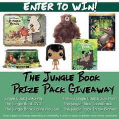 Jungle Book Giveaway