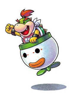Bowser Jr - Mario & Luigi: Paper Jam