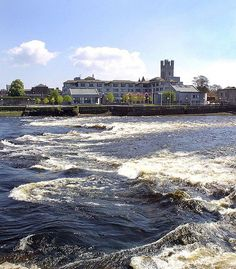 River Shannon, Limerick, Ireland - where my grandmother grew up and loved, and where i love as well! Limerick Ireland, Limerick City, Places To Travel, Places To Visit, Irish Sea, Republic Of Ireland, Ireland Travel, British Isles, Adventure Is Out There