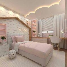 Kids Bedroom Designs, Room Design Bedroom, Room Ideas Bedroom, Home Room Design, Baby Room Decor, Bedroom Decor, Bedroom Lamps, Bedroom Lighting, Luxury Kids Bedroom