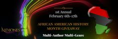 From the desk of . . . R.E. Hargrave: AFRICAN AMERICAN HISTORY MONTH #GIVEAWAY