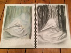 Testing how to create a soft texture to help convey a sense of calm/ethereal A Level Sketchbook, Ethereal, Relationships, Calm, Texture, Create, Books, Surface Finish, Libros