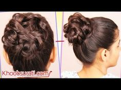#MESSY_HIGH_BUN @ Khoobsurati.com #DIY_HAIR_DESIGN http://khoobsurati.com/women/haircare https://www.youtube.com/watch?v=gsf2tcY8NIA