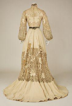 1904 silk gown