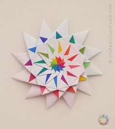 The other day, when I was checking my Flickr feed, a really beautiful star caught my eyes. It was one of Maria Sinayskaya's 12 Pointed Star variation. Maria designs wonderful modular Origami like Kusudama and Origami stars. You should definitely check out her Flickr page and see all of the beautiful Origami designs she creates. …