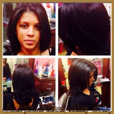 Layered Haircut/ Style