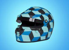 Cube Helmet by Death Spray 1