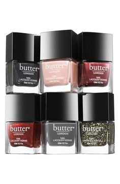 butter LONDON 'Steampunk Ball' Nail Lacquer Collection Fall 2014