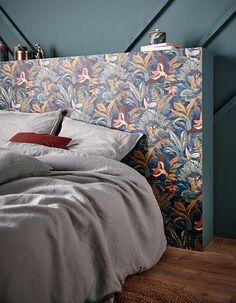 Headboard Art, Interior Architecture, Interior Design, Hotel Decor, Love Home, Bedroom Styles, Bedroom Ideas, Dream Rooms, Furniture Design
