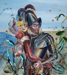 Don Diego Velazquez, oil on canvas, 150x130cm, 2017