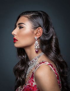 Gorgeous wedding make-up for a multicultural beauty   Karuna Chani from KC-Makeup shares her tips on wedding make-up trends and how to work with your make-up artist: http://www.xaazablog.com/2015-wedding-makeup-trends-and-tips-with-karuna-chani/ #weddingmakeup #bridalmakeup