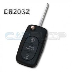 Coque de clé plip A2 A3 A4 A6 A8 RS4. Modèle 3 boutons pour pile CR2032