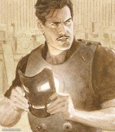 Tony Stark by Paolo Rivera
