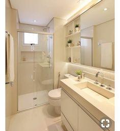 Bathroom Design Layout, Bathroom Design Luxury, Home Room Design, Home Design Decor, Bathroom Design Small, Modern Bathroom, Home Interior Design, House Design, Small Toilet Design