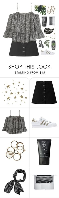 """gonna keep a-movin' baby"" by i-smell-grunge ❤ liked on Polyvore featuring ferm LIVING, Miss Selfridge, adidas, Nokia, NARS Cosmetics and Apple"