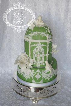 Birdcage Cake - Cake by Victoria  Mkhitaryan Cakes&Desserts