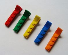 Lego Hair Clips!