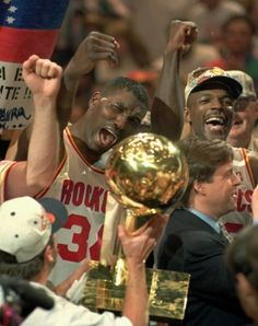 "Those wonderful days of Clyde ""the Glide"" Drexler and Hakeem ""the Dream"" Olajuwon were historic!"