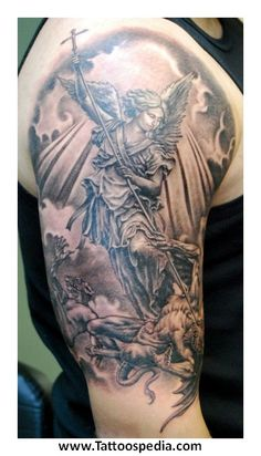 angel tattoo for men - Google Search