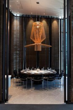 Come get amazed by the best restaurant lighting inspiration. See more pieces at  luxxu.net