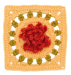 Stitchfinder : Crochet Floral Block: Chrysanthemum Square : Frequently-Asked Questions (FAQ) about Knitting and Crochet : Lion Brand Yarn