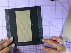 ▶ Paper Bag Mini Album Binding Tutorial - YouTube Nica shows how to bind with floss