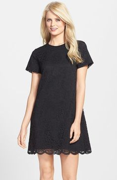 Cynthia Steffe CeCe by Lace Short Sleeve Shift Dress on shopstyle.com