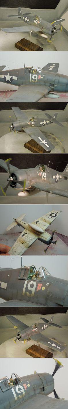 1/48 F6F-3 Hellcat on the hunt