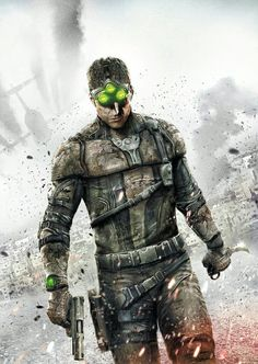 Splinter Cell: Blacklist this game looks so cool I am considering getting it. I haven't actually played a Splinter Cell in 10 years but I have kept myself posted on the stories Splinter Cell Blacklist, Tom Clancy's Splinter Cell, King's Quest, Special Ops, Special Forces, Game Concept, Halloween Disfraces, Shadowrun, Black Ops