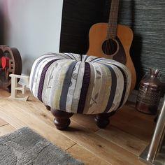 Ottoman, Pattern, Furniture, Home Decor, Decoration Home, Room Decor, Patterns, Home Furnishings, Arredamento