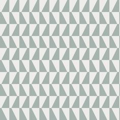 Brewster Home Fashions Scandinavian Designers II Trapez Geometric x Wallpaper Roll Color: Light Green Brick Wallpaper Roll, Wallpaper Panels, White Wallpaper, Wallpaper Samples, Geometric Wallpaper, Geometric Prints, Bedroom Wallpaper, Perfect Wallpaper, Wall Wallpaper