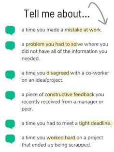 "Tips for Tackling ""Tell Me About a Time When"" Interview Questions Like a Pro"