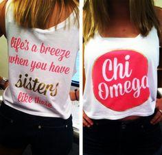 But Omega Phi Alpha.  Cool for sisterhood retreat or something.