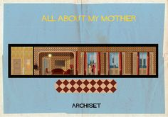 Archiset - AD España, © Federico Babina Famous Movies, Iconic Movies, All About My Mother, Bauhaus Style, Mother Art, Minimalist Poster, Modern Wall Art, Contemporary Art, Classic Films