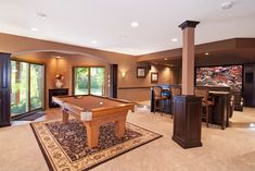Pehle Lower Level - traditional - basement - minneapolis - by College City Design Build