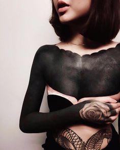 Blackout Tattoo;