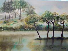 Szántó Ágnes Köd Olaj Painting, Art, Painting Art, Paintings, Kunst, Paint, Draw, Art Education, Artworks
