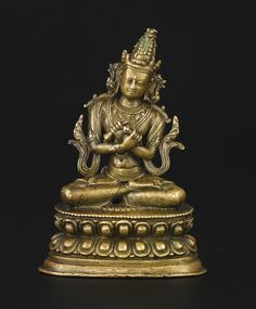 18th century, Tibet, labelled Vajrasattva, copper alloy, private collection, photo by Christie's.