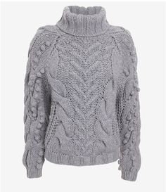 Barbara Bui Chunky Pom Sweater